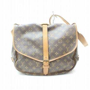 Auth Louis Vuitton Saumur Bag Crossbody #926L24